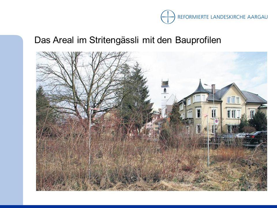 13. Oktober 2011: Das neue Haus der Reformierten ist fertig, mit Beschriftung, kurz vor dem Umzug