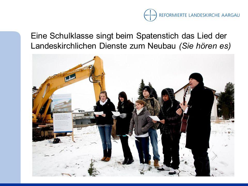 Sommer 2010: Zuerst wird eines der beiden Wohnhäuser der Gesamtüberbauung errichtet