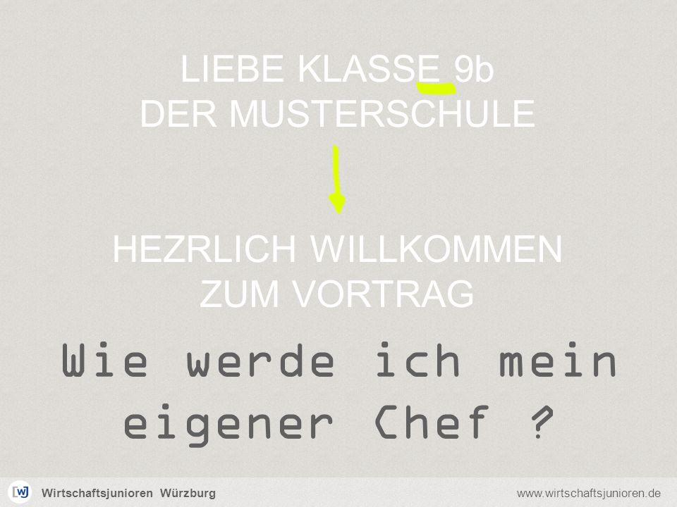 Wirtschaftsjunioren Würzburgwww.wirtschaftsjunioren.de Wer sind wir.