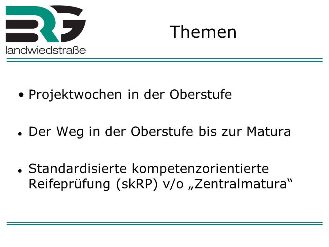 An einem Tag in ganz Österreich Zentrale Aufgabenstellungen Korrektur und Beurteilung nach einem (zentral) vorgegebenen Korrektur- und Beurteilungsschlüssel Kontrolle durch die Vorsitzenden der RP- Kommissionen Durchführung (Klausuren)