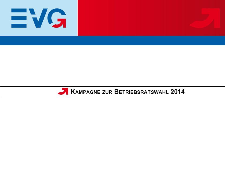 Die Betriebsratswahlen 2014 erfolgreich vorzubereiten und durchzuführen ist die wichtigste, gemeinsame Aufgabe aller haupt- und ehrenamtlichen Funktionäre der EVG in den nächsten Monaten.