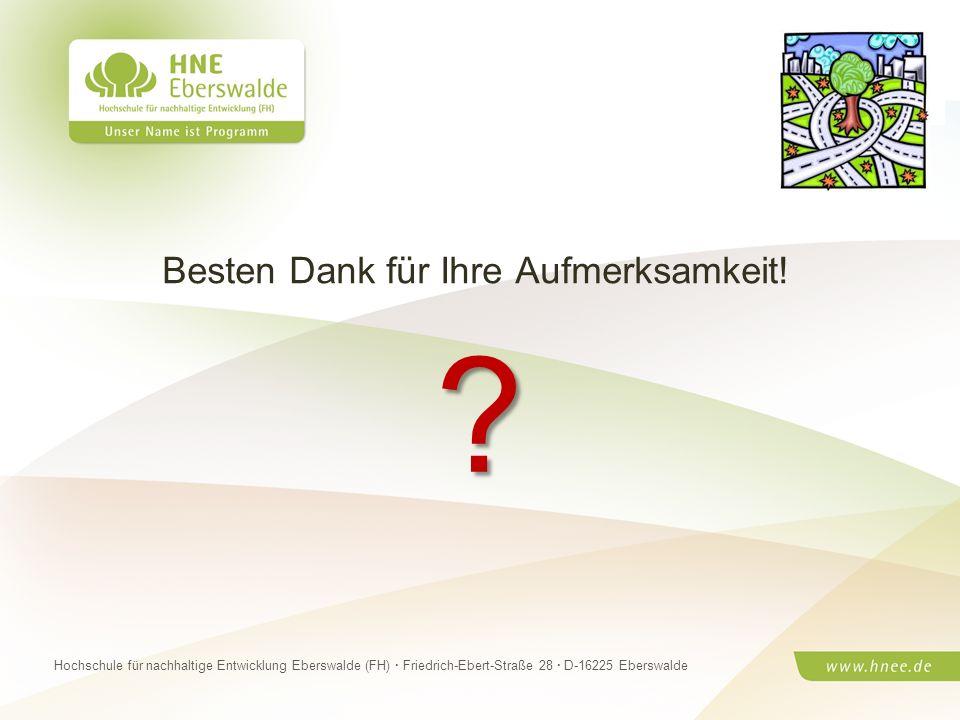 Projektteam Regionale Esskultur Brandenburg · HNE Eberswalde (FH) · Modul Projektplanung und -managementSeite 16 Hochschule für nachhaltige Entwicklun