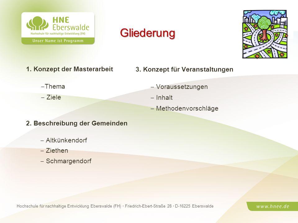 Projektteam Regionale Esskultur Brandenburg · HNE Eberswalde (FH) · Modul Projektplanung und -managementSeite 2 Hochschule für nachhaltige Entwicklung