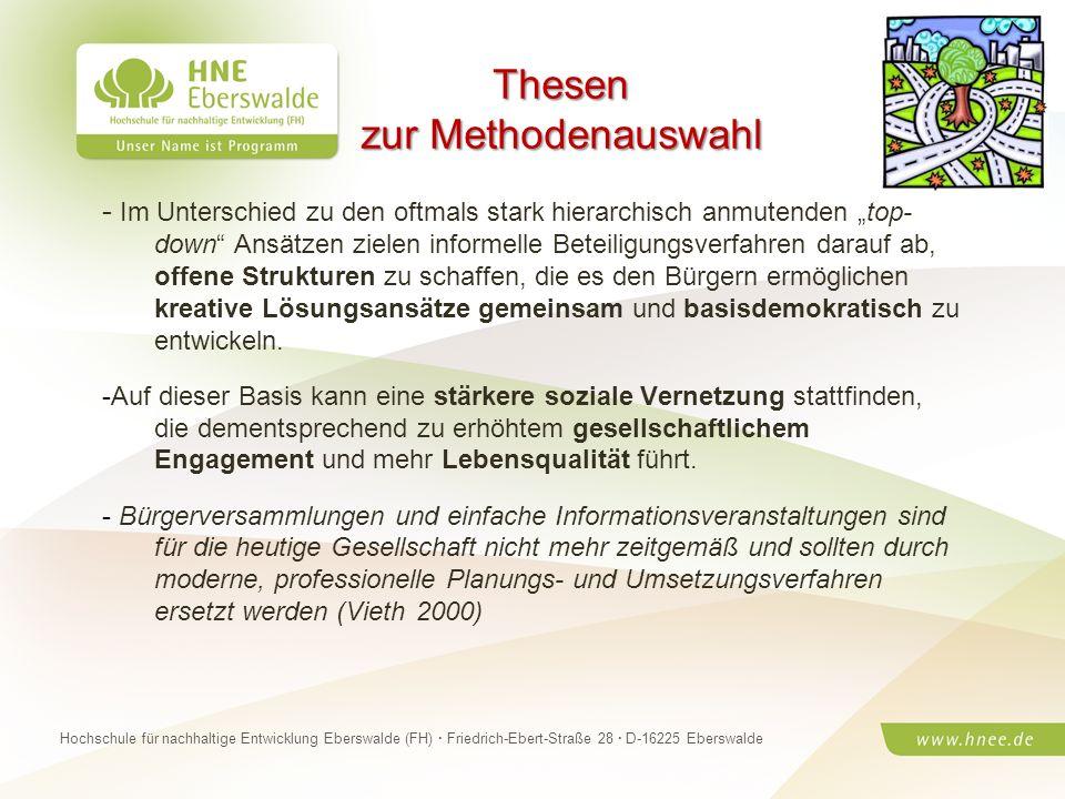 Projektteam Regionale Esskultur Brandenburg · HNE Eberswalde (FH) · Modul Projektplanung und -managementSeite 22 Hochschule für nachhaltige Entwicklun