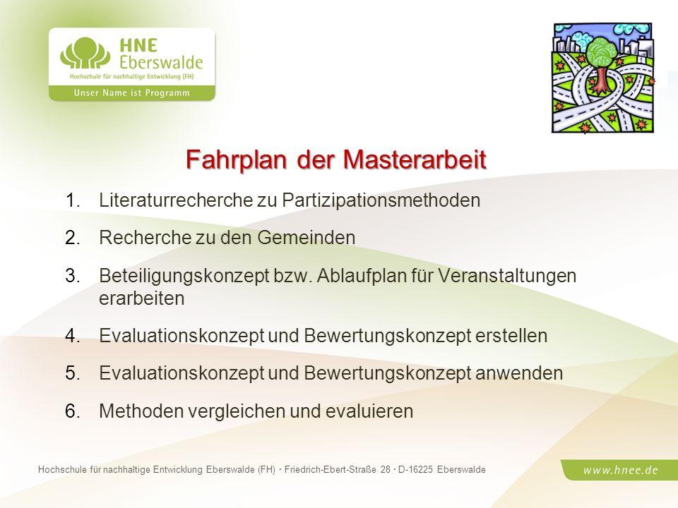 Projektteam Regionale Esskultur Brandenburg · HNE Eberswalde (FH) · Modul Projektplanung und -managementSeite 24 Hochschule für nachhaltige Entwicklun