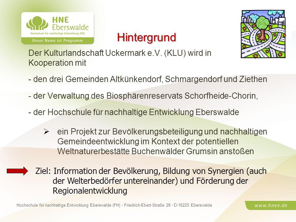 Projektteam Regionale Esskultur Brandenburg · HNE Eberswalde (FH) · Modul Projektplanung und -managementSeite 25 Hochschule für nachhaltige Entwicklun