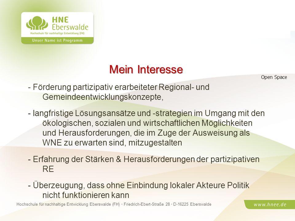 Projektteam Regionale Esskultur Brandenburg · HNE Eberswalde (FH) · Modul Projektplanung und -managementSeite 26 Hochschule für nachhaltige Entwicklun