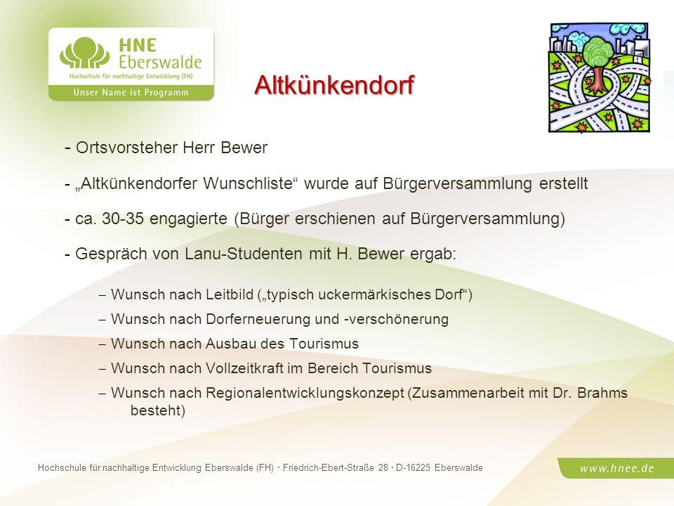 Projektteam Regionale Esskultur Brandenburg · HNE Eberswalde (FH) · Modul Projektplanung und -managementSeite 29 Hochschule für nachhaltige Entwicklun