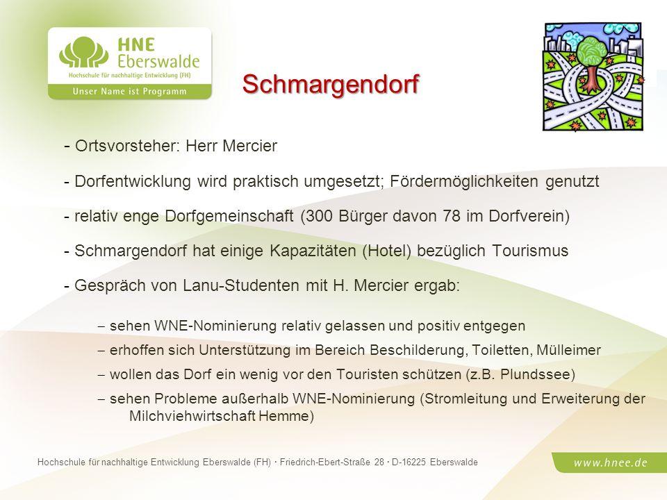 Projektteam Regionale Esskultur Brandenburg · HNE Eberswalde (FH) · Modul Projektplanung und -managementSeite 31 Hochschule für nachhaltige Entwicklun