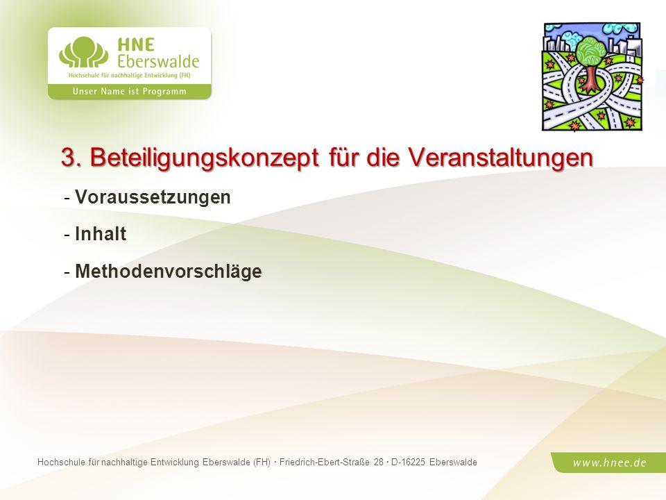 Projektteam Regionale Esskultur Brandenburg · HNE Eberswalde (FH) · Modul Projektplanung und -managementSeite 9 Hochschule für nachhaltige Entwicklung