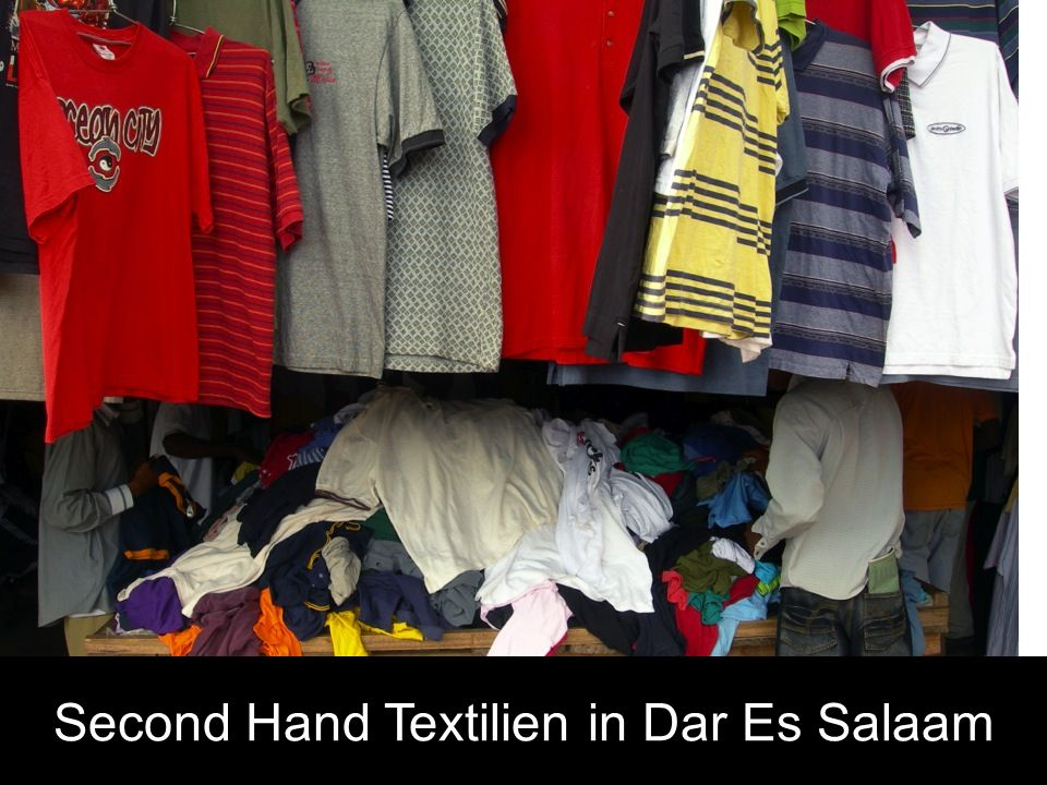 Second Hand Textilien in Dar Es Salaam