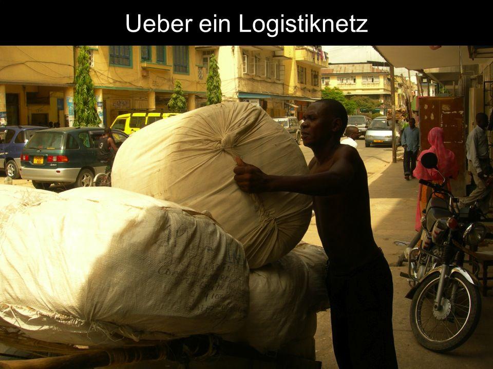 Ueber ein Logistiknetz