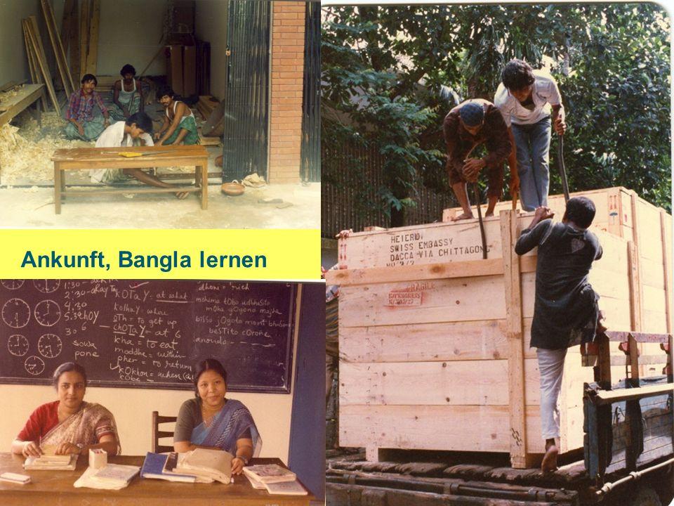 Ankunft, Bangla lernen