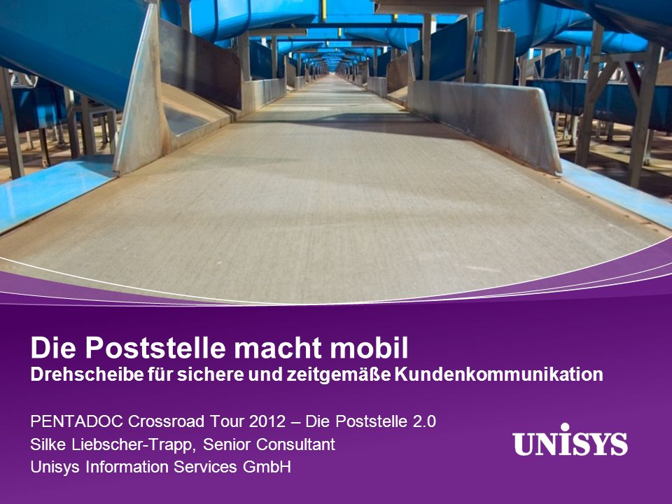© 2012 Unisys Corporation.All rights reserved. 22 Kundenbindung und Kundenzufriedenheit.