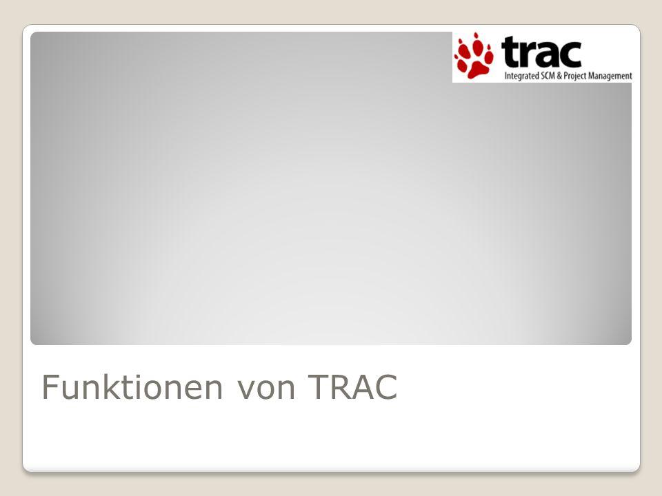 Funktionen von TRAC