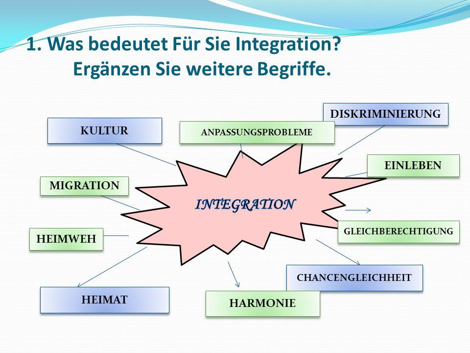 2a.HV: Hören Sie einen Radiobeitrag zum Thema Integration.