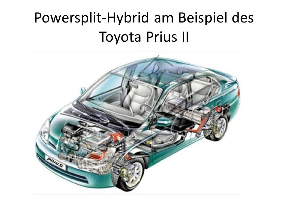 Powersplit-Hybrid am Beispiel des Toyota Prius II