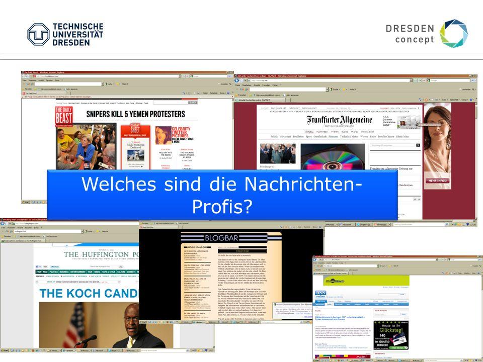 www.donsbach.net Welches sind die Nachrichten- Profis