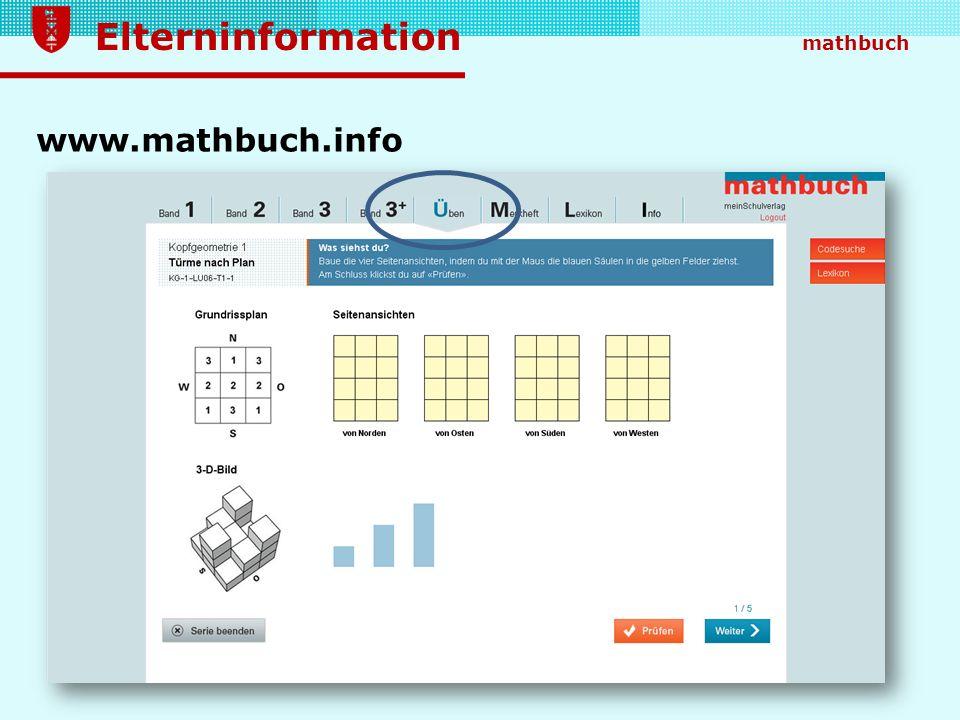 Elterninformation mathbuch www.mathbuch.info