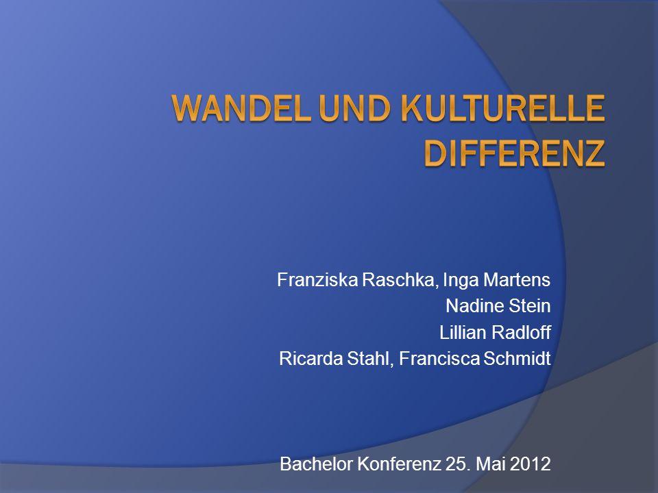 Franziska Raschka, Inga Martens Nadine Stein Lillian Radloff Ricarda Stahl, Francisca Schmidt Bachelor Konferenz 25. Mai 2012