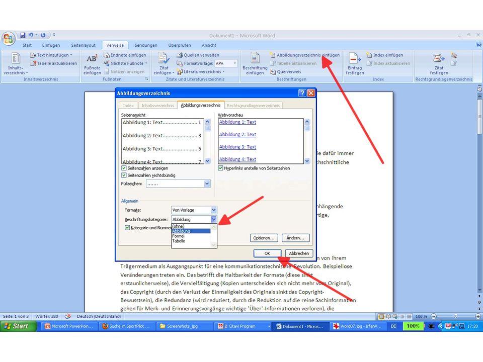 Seitenzahlen einfügen: Seite 1 fängt auf der dritten Seite an