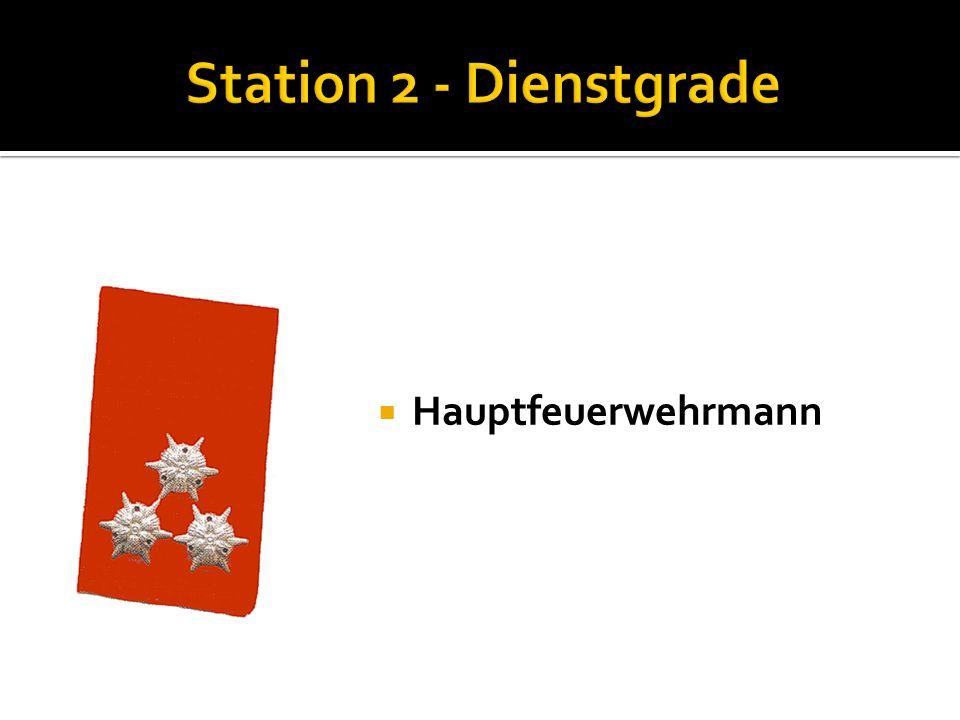 Oberfeuerwehrmann Nenne die Funktionen der Kommandomitglieder: