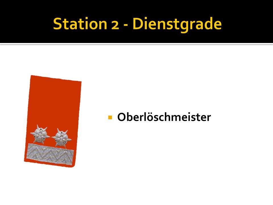Löschmeister Nenne die Funktionen der Kommandomitglieder: