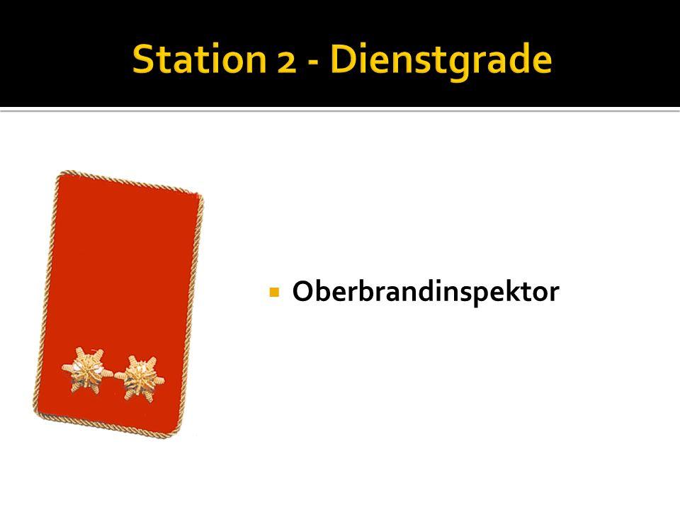 Brandinspektor Nenne die Funktionen der Kommandomitglieder: