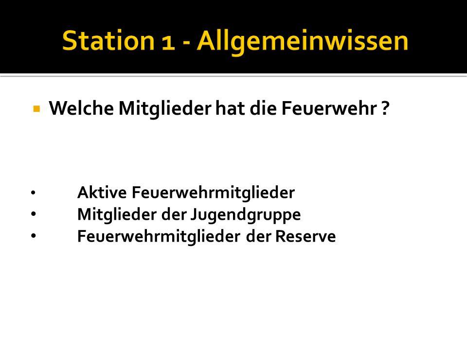 Wie heißt Dein Feuerwehrkommandant Nenne die Funktionen der Kommandomitglieder: HBI Franz Zauner