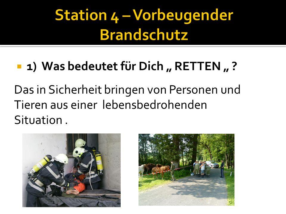 Station 3 ist direkt am Fahrzeug durchzuführen!