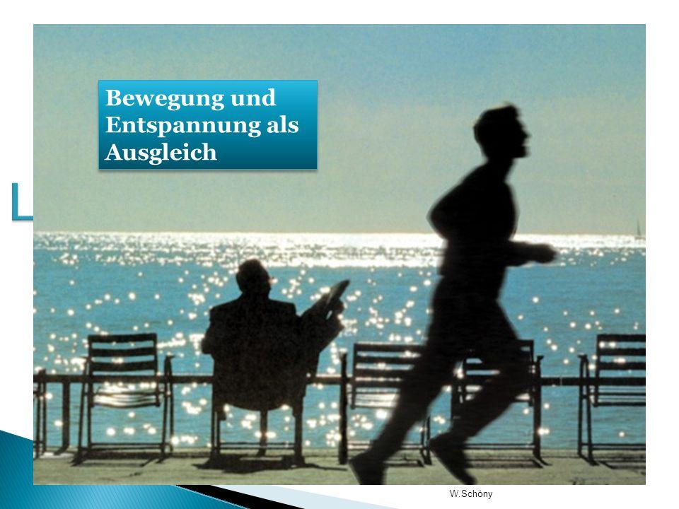 Lifeleadership DIE BALANCE DER LEBENSBEREICHE Bewegung und Entspannung als Ausgleich