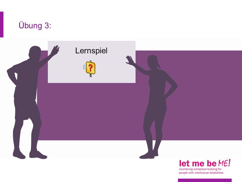 Zusammenfassung: Mobbing melden (1) Wenn Sie gemobbt werden, ist es wichtig, dass Sie darüber mit jemandem sprechen.