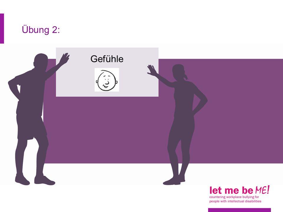 Übung 2: Gefühle