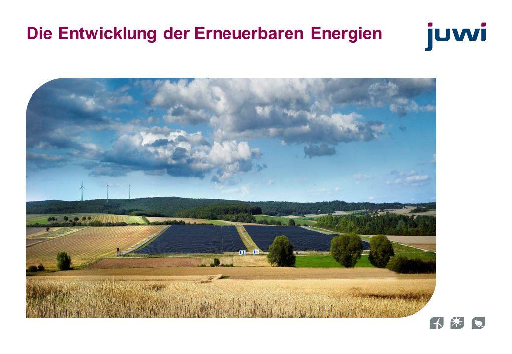 19 Die Entwicklung der Erneuerbaren Energien