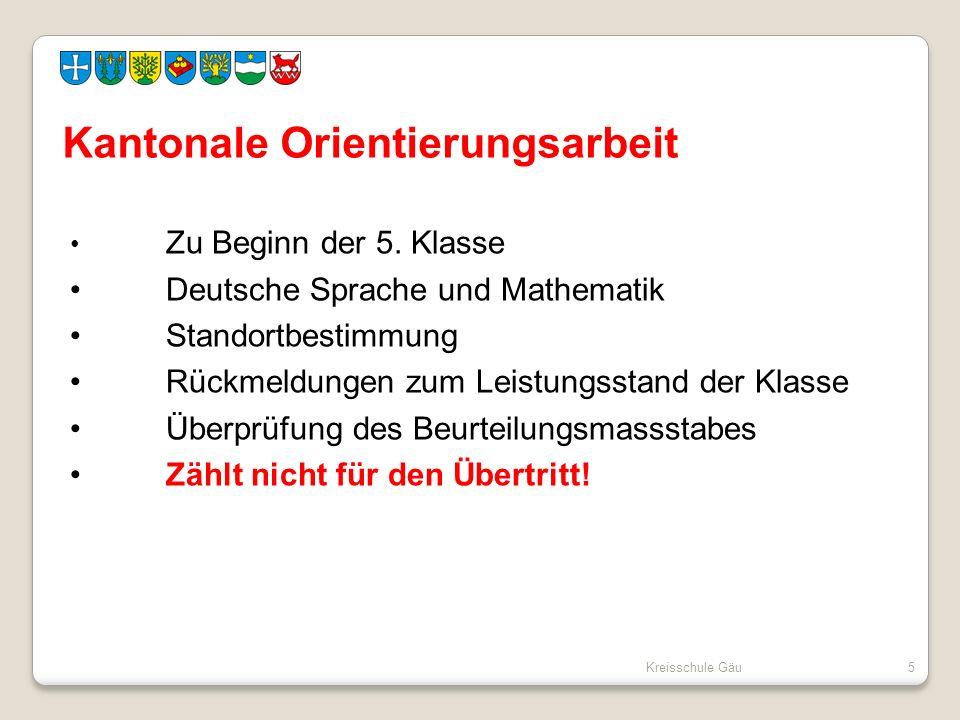 Zu Beginn der 5. Klasse Deutsche Sprache und Mathematik Standortbestimmung Rückmeldungen zum Leistungsstand der Klasse Überprüfung des Beurteilungsmas