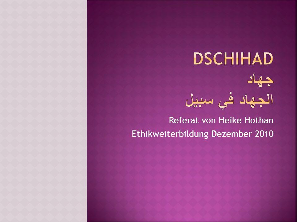 Referat von Heike Hothan Ethikweiterbildung Dezember 2010