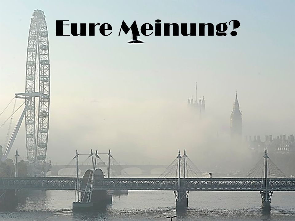 Eure Meinung?