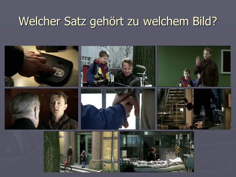 6.Hier siehst Du einen Dialog aus dem Film.