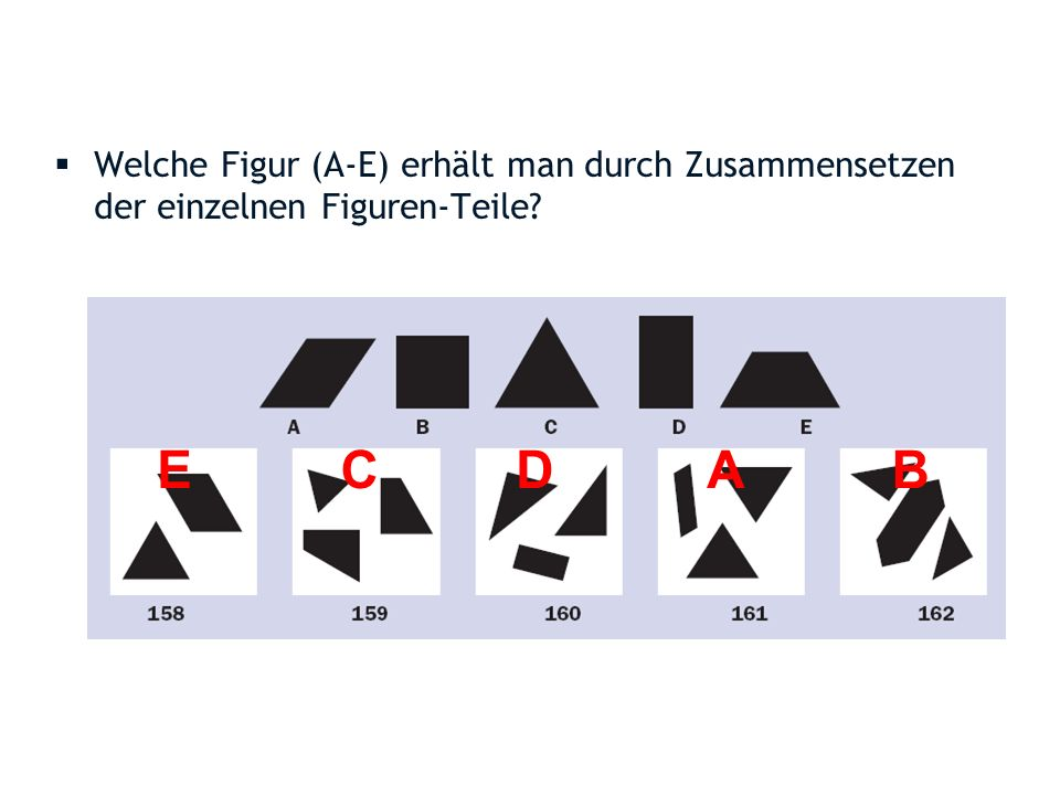g allgemeine Intelligenz figural- räumliche Intelligenz mathem.- rechnerische Intelligenz sprachliche Intelligenz .