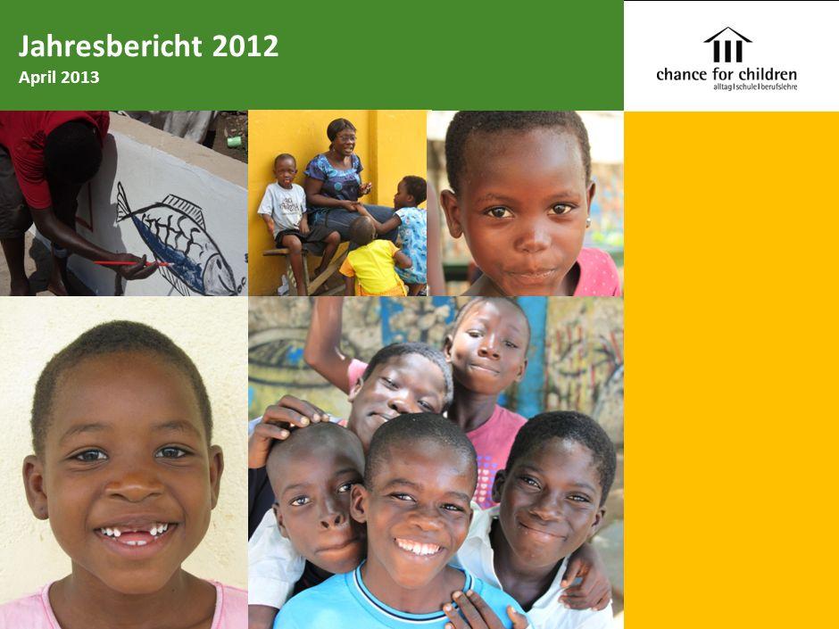 Chance for Children Spendengelder und Erträge 2012 Schweizer Franken 1.