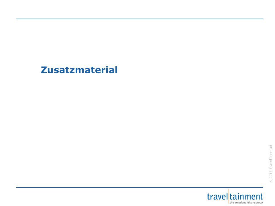 © 2013 TravelTainment Zusatzmaterial