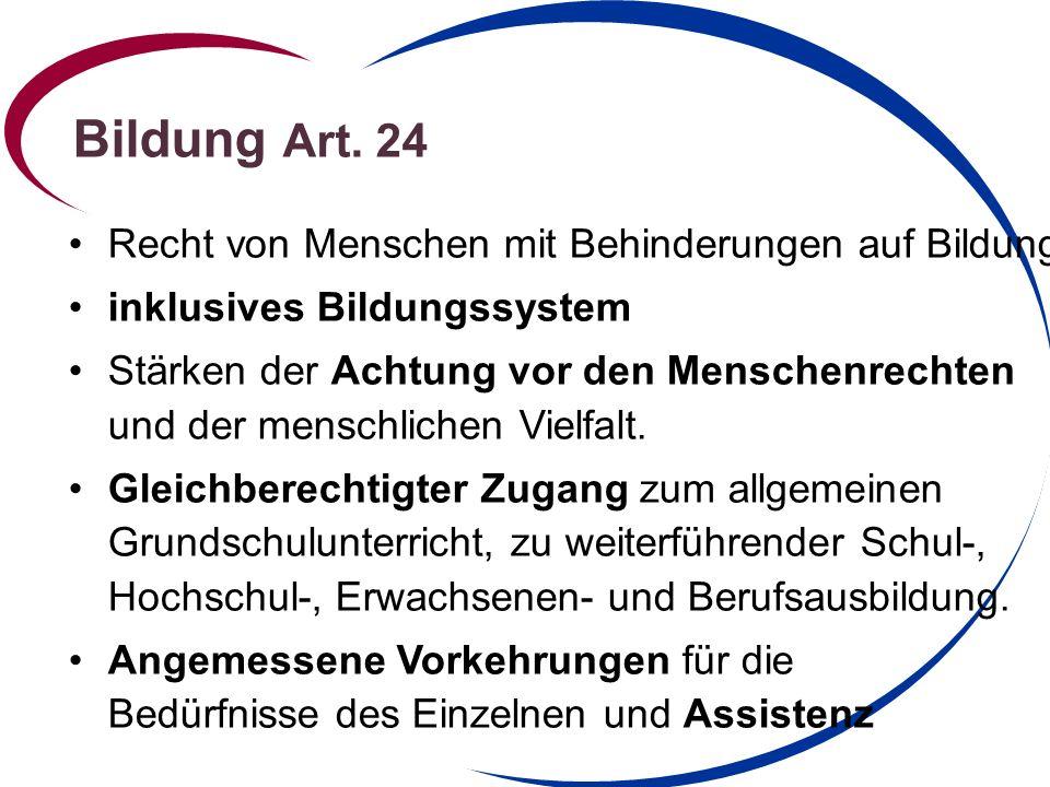 Bildung Art.