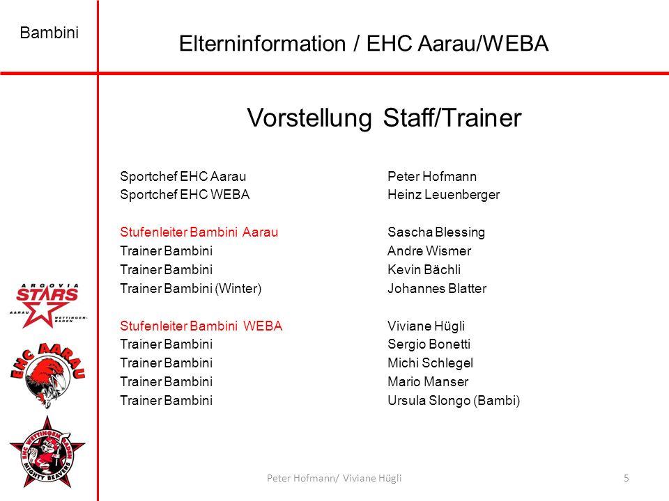 Bambini 16Peter Hofmann/ Viviane Hügli Elterninformation / EHC Aarau/WEBA