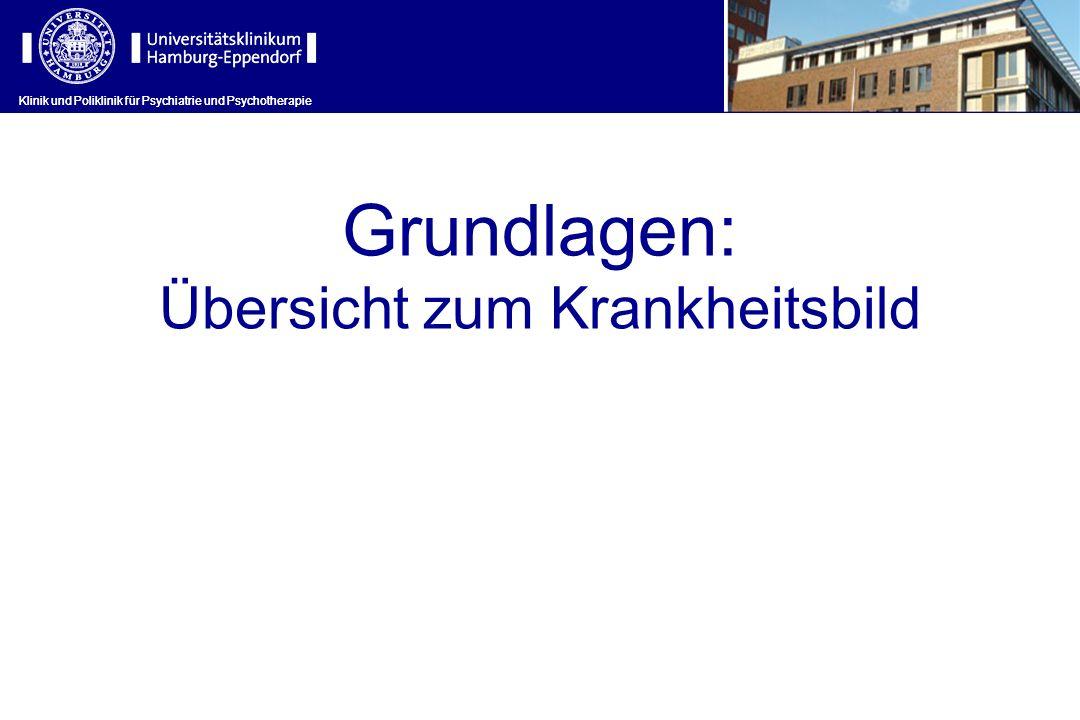 Grundlagen: Übersicht zum Krankheitsbild Klinik und Poliklinik für Psychiatrie und Psychotherapie
