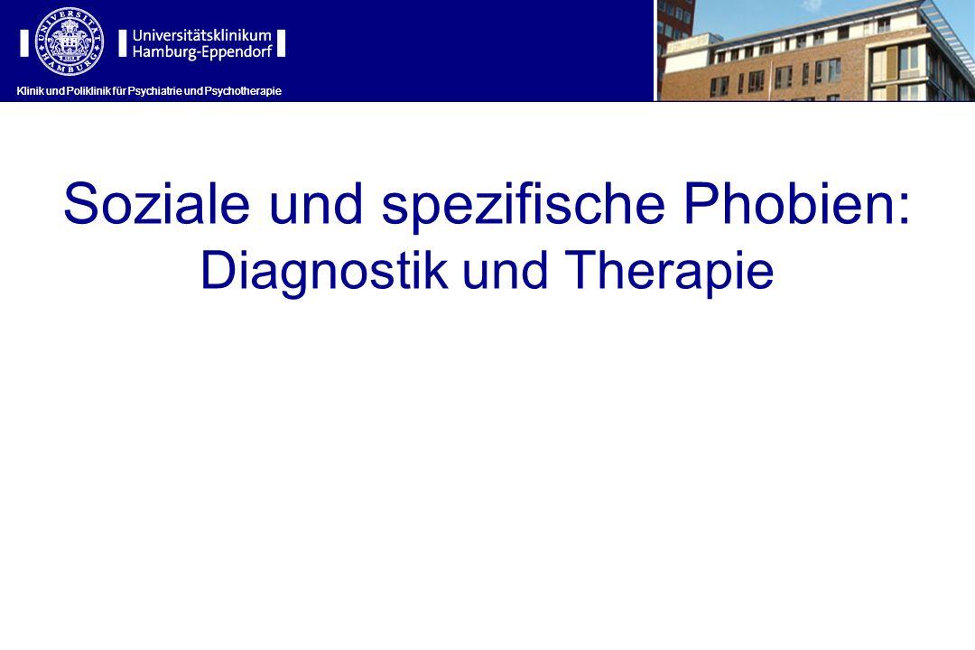 Soziale und spezifische Phobien: Diagnostik und Therapie