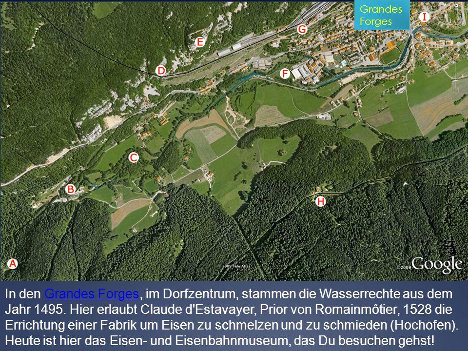 Antwort c) : Um den Anschluss an die Bahnlinie Vallorbe - Pontarlier zu ermöglichen.