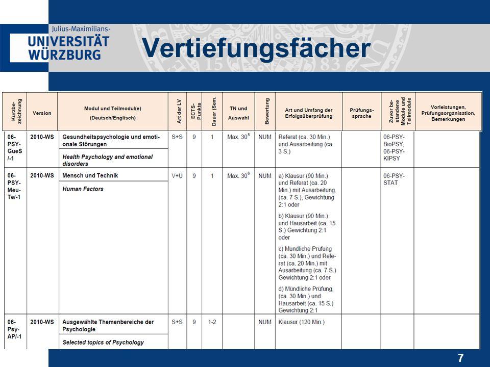 8 Anmeldung & Platzvergabe Dezentral geregelt.