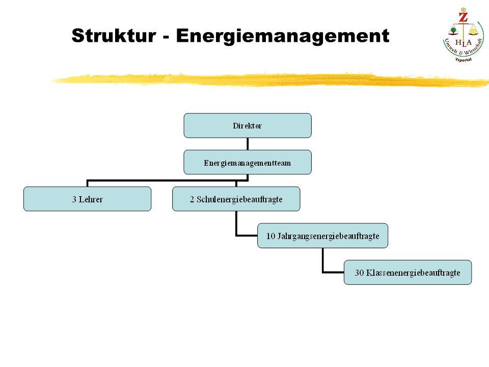 Struktur - Energiemanagement