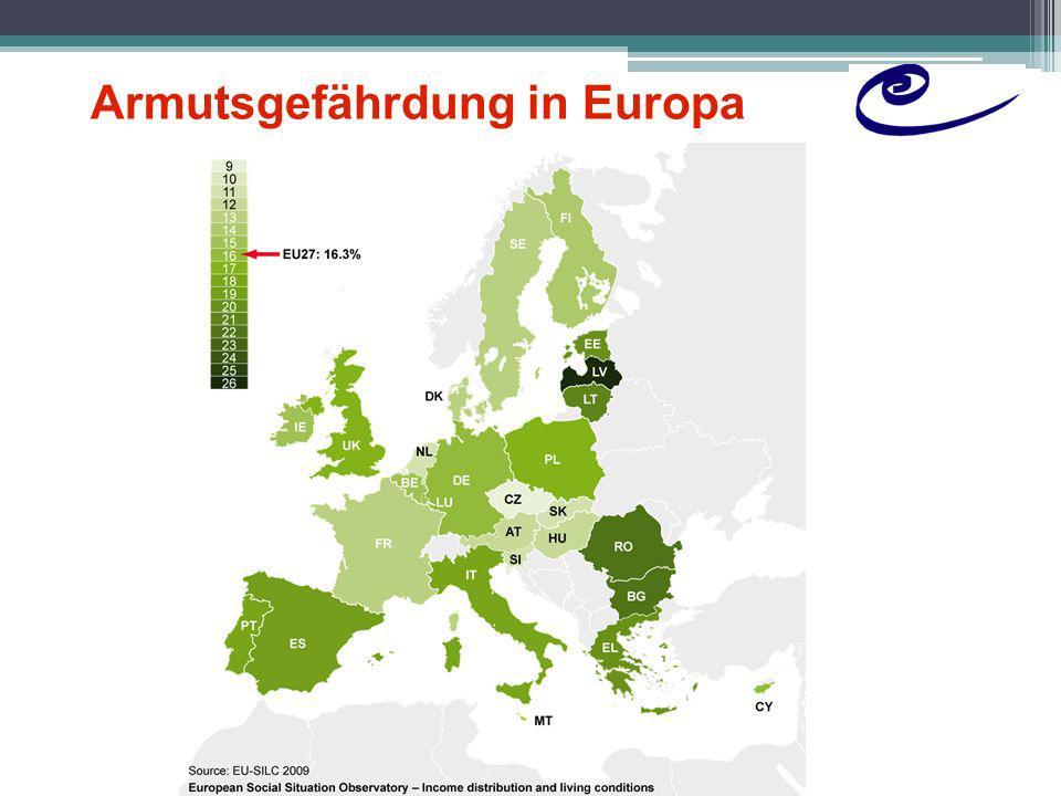 Armutsgefährdung in Europa (2)