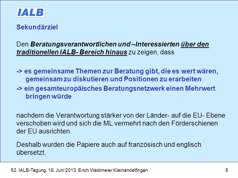 52.IALB-Tagung, 19. Juni 2013, Erich Waldmeier Kleinandelfingen6 1.